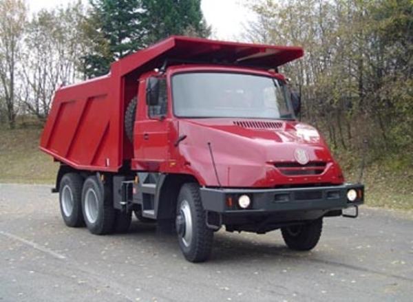 Технические характеристики моделей самосвалов Татра серии 613