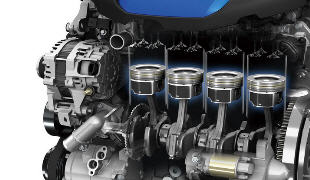 Нумерация цилиндров двигателя