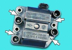 Фото нумерации цилиндров двигателя, autolada.ru