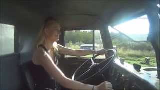 Trucking Girl - Jazda Krazem na Summer Cars Party, Kraz driving on SCP ep. 28