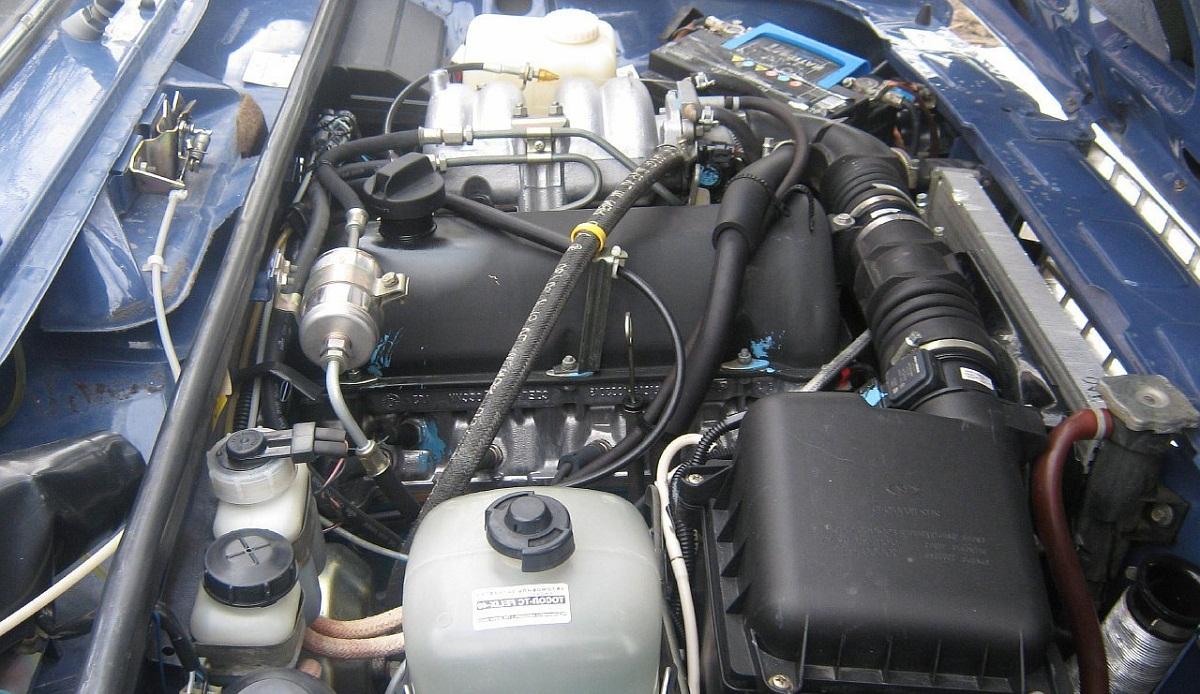 Инжекторный тип двигателя