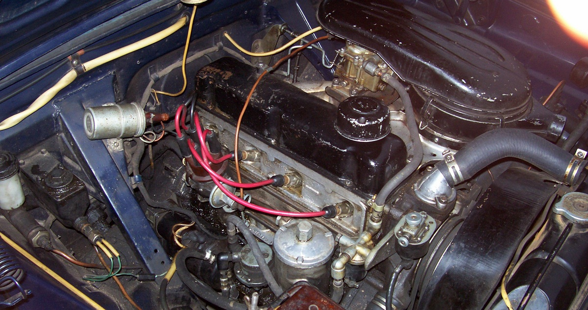 Тип двигателя карбюраторный